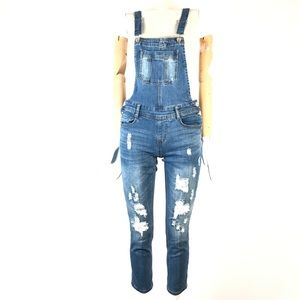 Eightytwo denim overall distressed